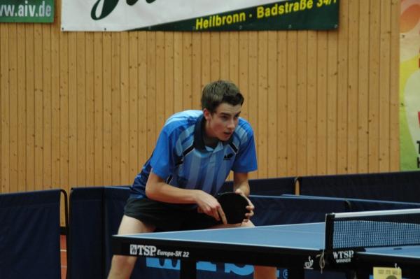 Vizebezirksmeister Herren C Einzel Simon Sanden (TSV Erlenbach)
