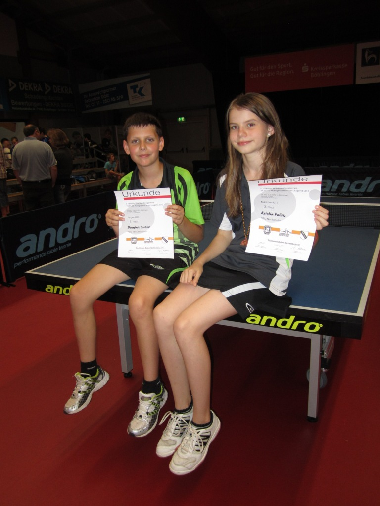 Kristin Fabriz und Dominic Siebel