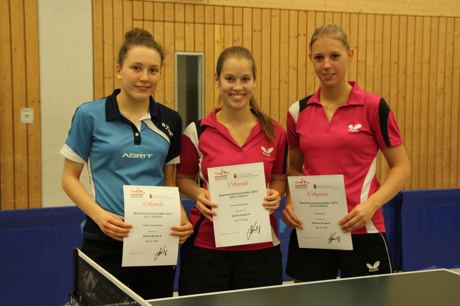 Damen A - Sieger BZM 2012
